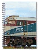 Amtrack Engine Spiral Notebook