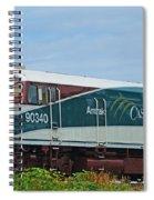 Amtraks Cascade Engine Spiral Notebook