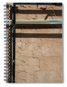 An Abstracted Wall Spiral Notebook