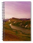 An Alpine Lake On Beartooth Pass  Spiral Notebook