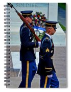 An American Soldier Spiral Notebook