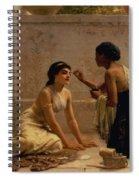 An Ancient Custom Spiral Notebook
