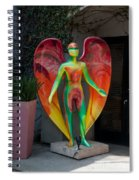 An Angel Spiral Notebook