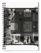 An Apple Ipod Shuffle Spiral Notebook