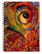 An Artist In Wonderland Spiral Notebook