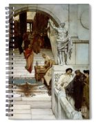 An Audience At Agrippa's Spiral Notebook