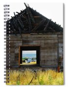 An Empty Barn  Spiral Notebook