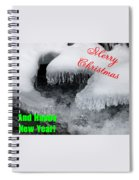 An Icy Christmas Spiral Notebook