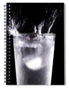 An Icy Splash Spiral Notebook