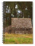 An Idaho Barn Spiral Notebook
