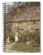 An Old Surrey Cottage Spiral Notebook