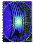 An Orb In Abstract 2 Spiral Notebook