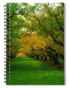 An Orchard Row  Spiral Notebook
