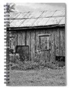 An Orderly World Monochrome Spiral Notebook