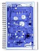An X-ray Of A Pinball Machine Spiral Notebook