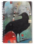 Ancestral Visit Spiral Notebook