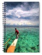 Anchor's Away Spiral Notebook