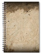 Ancient Christian Symbol Spiral Notebook
