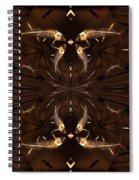 Ancient Fish Bones Spiral Notebook