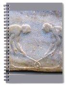 Ancient Hockey Spiral Notebook