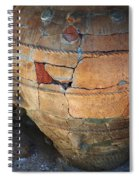 Ancient Relic Of Crete Spiral Notebook
