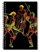 Ancient Roman Gladiators Spiral Notebook