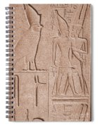 Ancient Stone Carvings, Karnak, Egypt Spiral Notebook