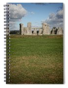 Ancient Stones Spiral Notebook