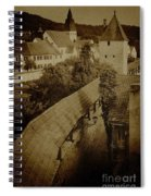 Ancient Surroundings Spiral Notebook