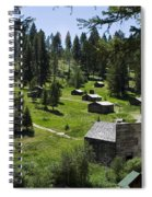 And There You Find Garnet Ghost Town Spiral Notebook