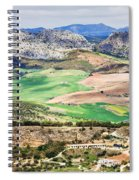 Andalucia Countryside Spiral Notebook