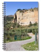 Andalusia Countryside Spiral Notebook