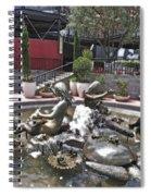 Andrea's Fountain At Ghirardelli Square Spiral Notebook
