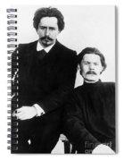 Andreyev And Gorki Spiral Notebook
