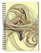 Andromeda Spiral Notebook
