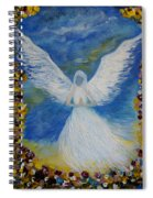 Angel Among Us Spiral Notebook