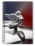Angel Hood Ornament Spiral Notebook