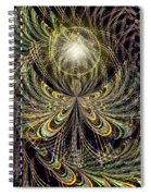 Angel In The Midst Spiral Notebook