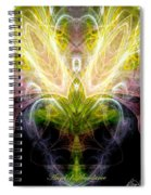 Angel Of Abundance Spiral Notebook