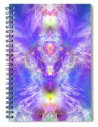 Angel Of Ascension Spiral Notebook
