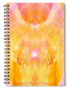 Angel Of Divine Protection Spiral Notebook