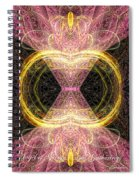 Angel Of Groups And Gatherings Spiral Notebook
