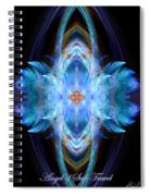 Angel Of Safe Travel Spiral Notebook