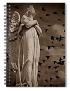 Angel Of Stone S Spiral Notebook