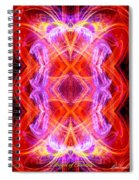 Angel Of Tantra Spiral Notebook