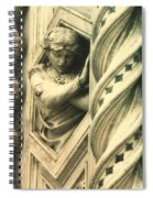Angel Of The Basilica Spiral Notebook