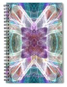 Angel Of The Crystal World Spiral Notebook