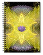 Angel Of The Moon Spiral Notebook