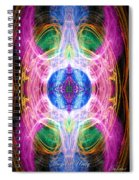 Angel Of Unity Spiral Notebook