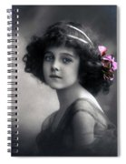 Angel On Earth Spiral Notebook